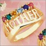 Mother iBrthstone Ring