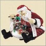 Musical Santa Snowglobe