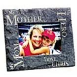 My Mother^^ My Hero Slate Frame