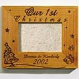 Our First Christmas Wooden Frames
