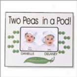 Pea Pod Picture Frame