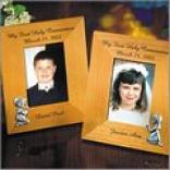 Pewter Figurine Communion Frames -3 1/2 X 5