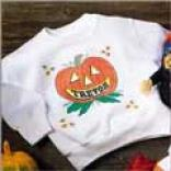 Pumpkin Sweatshirt-youth Size