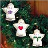 Set Of 4 Spirit Ornaments