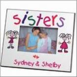 Sisters & Best Friends Colorful Frames
