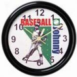 Sportss Clocks: Choose From 12 Boy/girl Designs