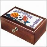 Sports Keepsake Boxes: Choose From 10 Boy/girl Designs