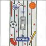 Sports Switchplate