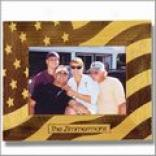 Stars And Stripes Wooden Frame