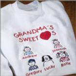 Sweethearts Sweatshirt-4 To 6 Icons