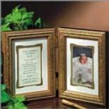 To My Godparents Keepsake Print And Frame