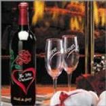 Vallentine Wine Bottle - Non-alcoholiic