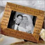 Wedding Vows Frame
