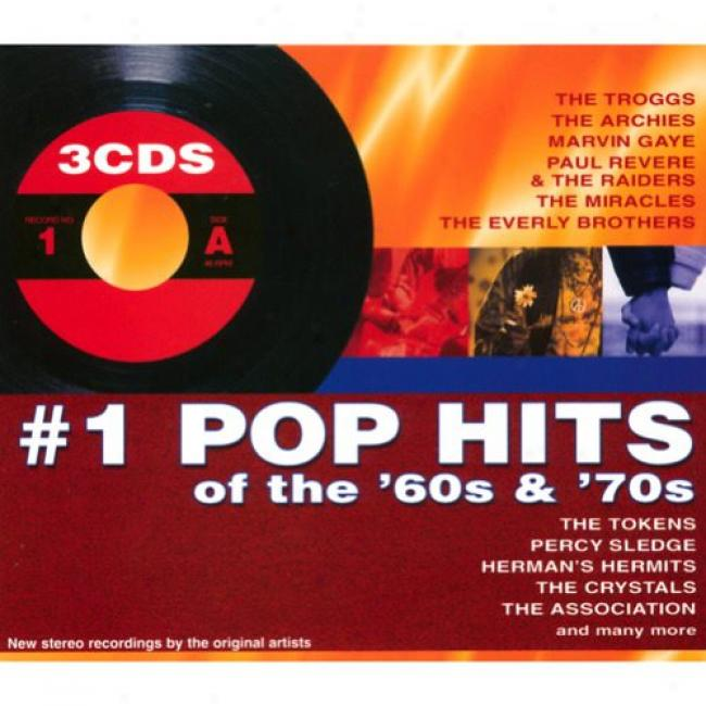 #1 Pop Hits Of The '60s & '70s (3cd) (digi-pak)