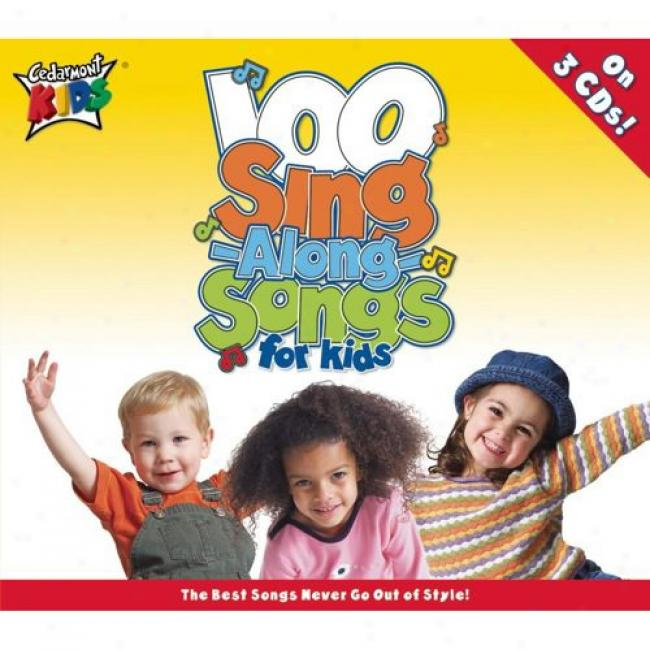 100 Sing Along Songs For Kids (3 Disc Box Set)