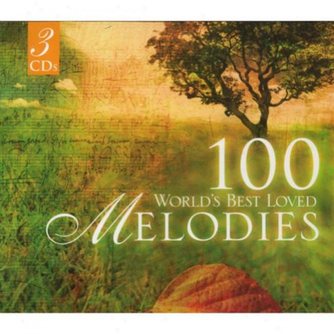 100 World's Best Loved Melodies (3cd) (dig-pak)