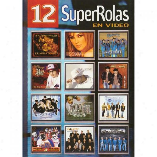 12 Superrolas En Video (music Dvd) (smaray Case)