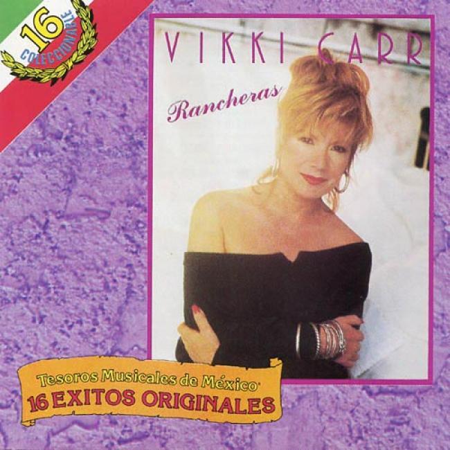 16 Exitos Originales: Tesoros Musicales De Mexico