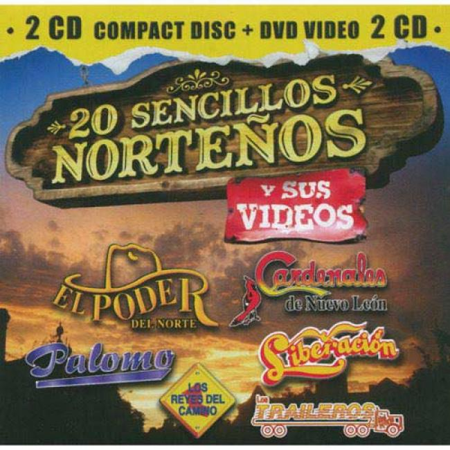 20 Sencillos Nortenos Y Sus Videos (includes Dvd)