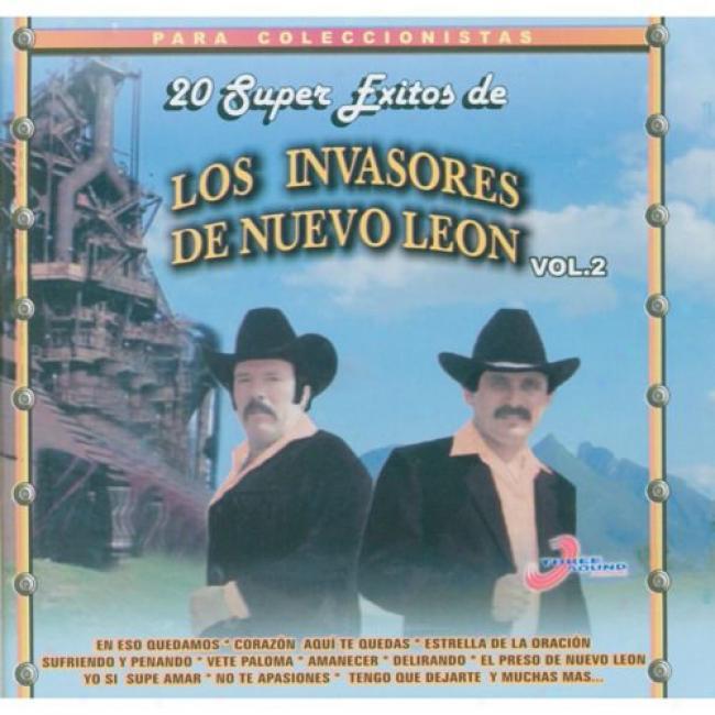 20 Super Exitos De Los Invasores De Nuevo Leon, Vol.1