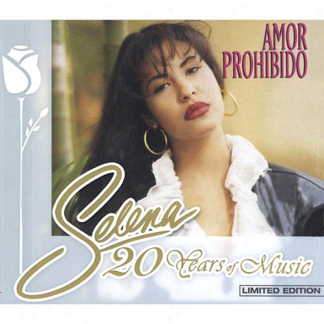 20 Years Of Muic: Amor Prohibido (limited Edition) (cd Slipcase) (remaster)