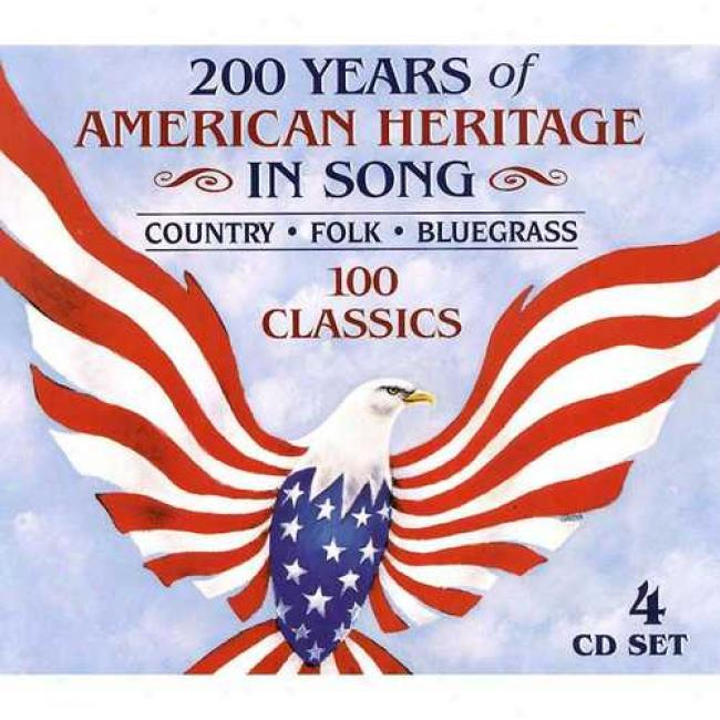 200 Years Of American Heritage In Song (jewrl)