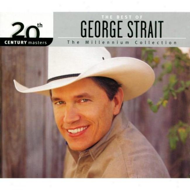 20th Century Masters: The Millennium Collection - The Best Of George Strait (with Biodegradable Cd Case)