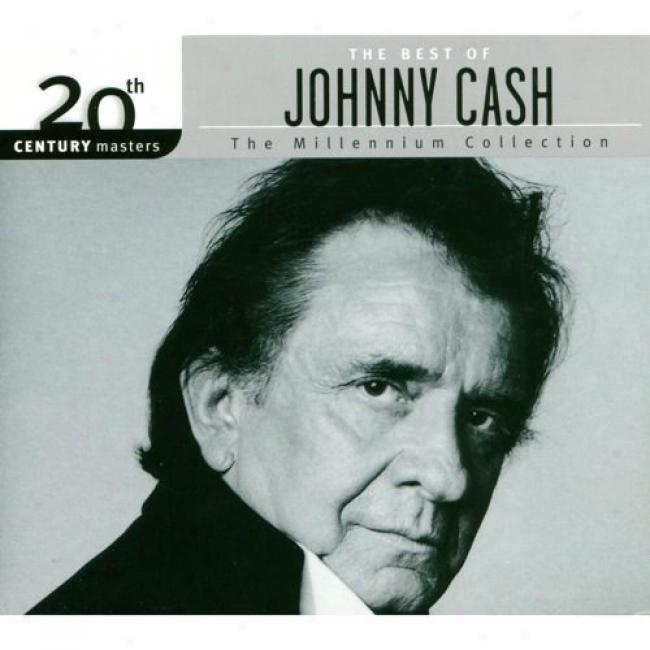 20th Century Masters: The Millennium Collection - The Best Of Johnny Cash (with Biodegradable Cd Case)