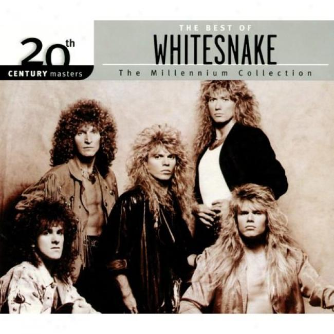 20th Century Masters: The Millennium Collection - The Best Of Whitesnake (with Biodegradable Cd Case)