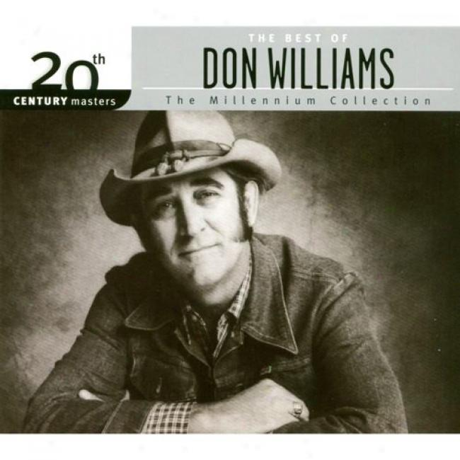 20th Century Masters: The Millennium Collection - Thw Best Of Don Williams (with Biodegradable Cd Case)