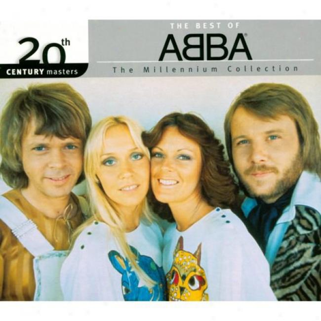 20th Century Masters: The Millennium Collection - The Best Of Abba (with Biodegradable Cd Case)