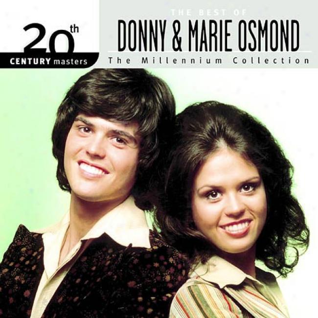 20th Century Masters:_The Millennium Collection - The Best Of Donny & Marie Osmond
