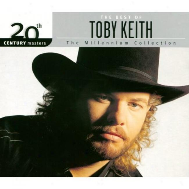 20ty Century Masters: The Millennium Collection - The Best Of Toby Keith (with Biodegradable Cd Circumstance)