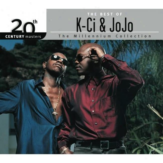 20th Centuy Masters: The Milleninum Collection - The Best Of K-ci & Jojo (with Biodegradable Cd Case)