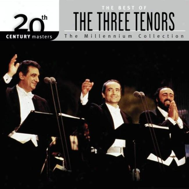 20th Centhry Masters: The Millennium Collection - The Best Of The Three Tenors (with Biodegradable Cd Case)