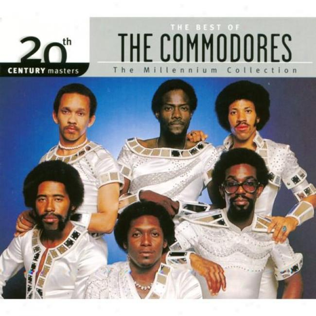 20th Century Masters: The Millennium Collection - The Best Of The Commodores (with Biodegradable Cd Case)