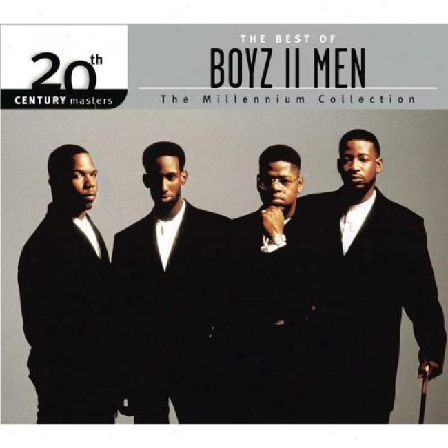 20th Century Masters: The Millennium Collection - The Best Of Boyz Ii Men (with Biodegradable Cd Case)