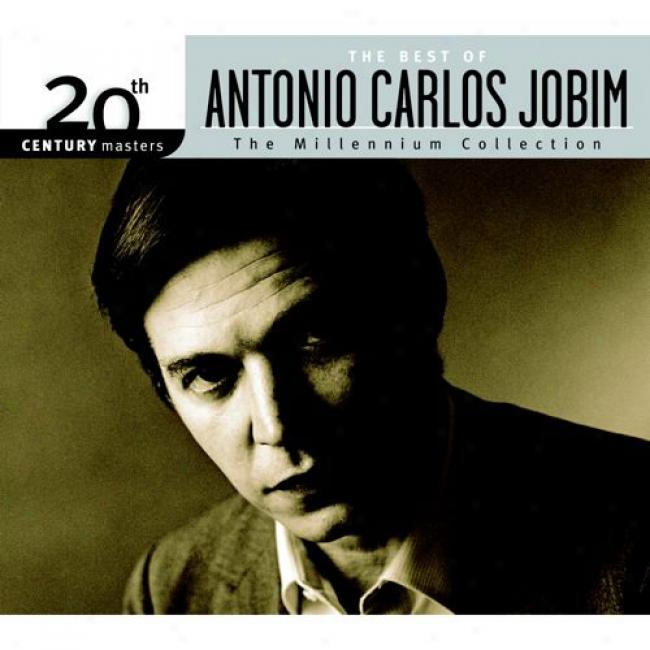 20ty Century Masters: The Millennium Collection - The Best Of Antonio Cralos Jobim (with Biodegradable Cd Case)