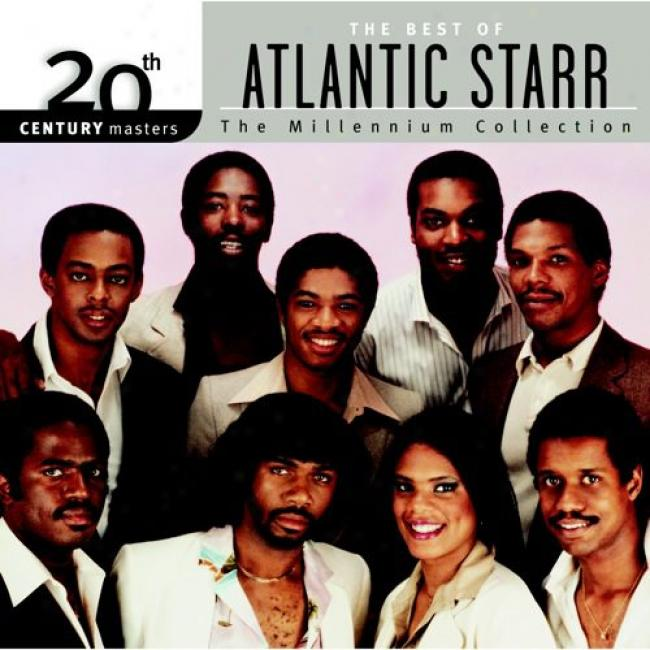 20th Century Masters: The Millennium Collection - The Best Of Atlantic Starr (with Biodegradable Cd Case)
