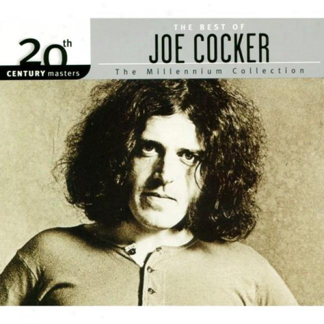 20th Century Masters: The Millennium Collection - The Best Of Joe Cocer (with Biodegradable Cd Case)