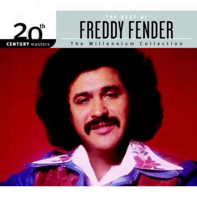 20th Century Masters: The Millennium Collection - The Best Of Freddy Fender (with Biodegradabpe Cd Box)