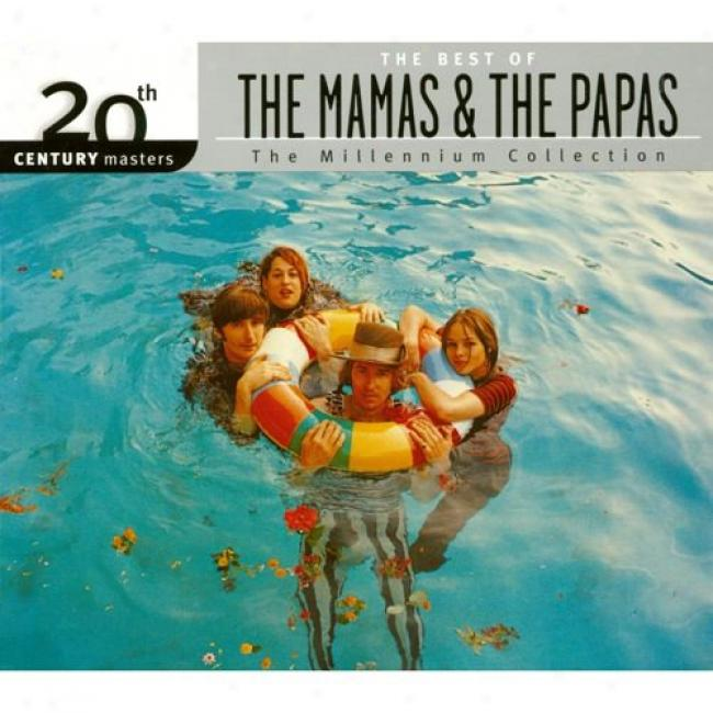 20th Century Masters: The Millennium Assemblage - The Best Of The Mamas And Tye Papas (with Biodegradable Cd Case)