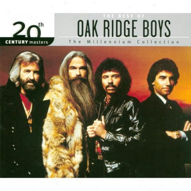 20th Century Masters: The Millennium Collection - The Best Of Oak Ridge Boys (with Biodegradable Cd Case)