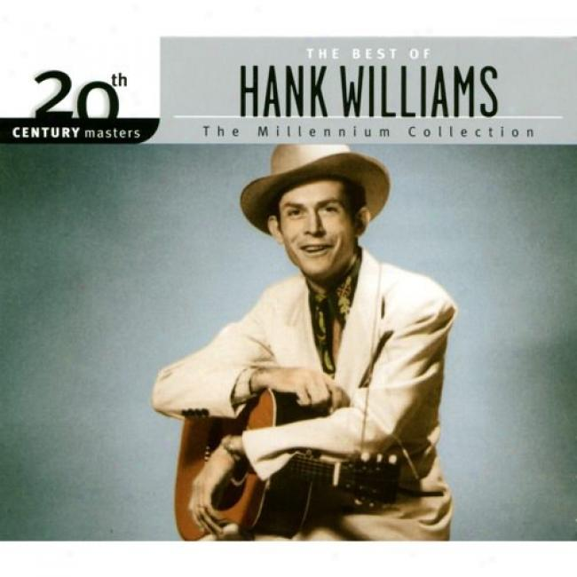 20th Century Masters: The Millennium Collection - The Best Of Hank Williams (with Biodegradable Cd Case)