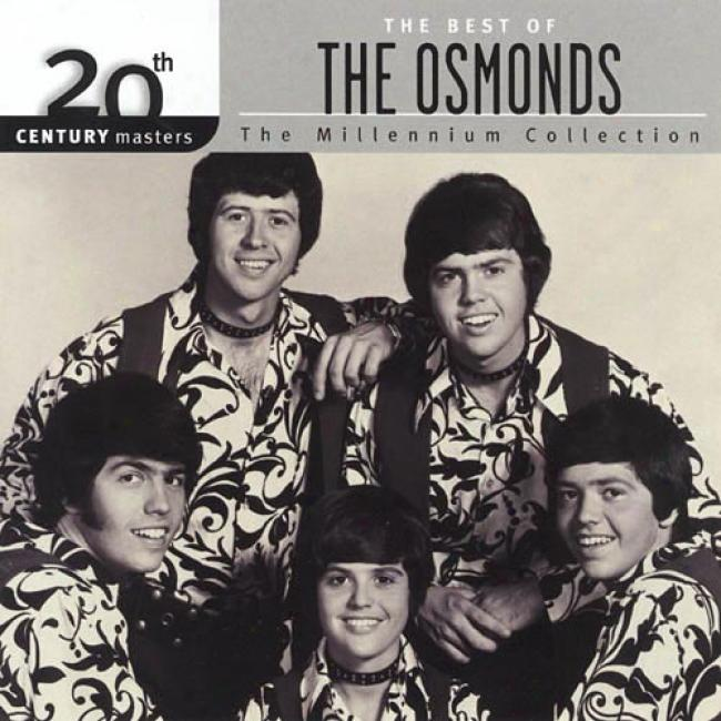 20th Century Mastera: The Millennium Collection - The Best Of The Osmonds