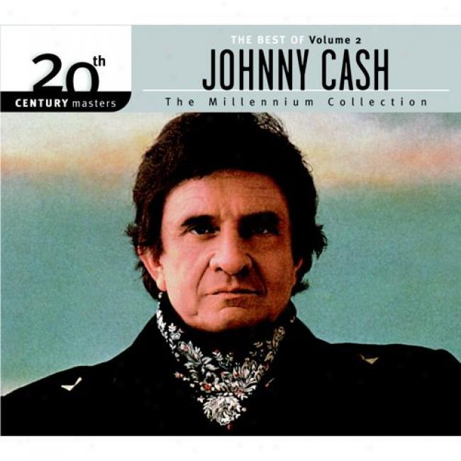 20th Century Masters: The Millennium Collection - The Best Of Johnny Cash, Vol.2 (with Biodegradable Cd Case)