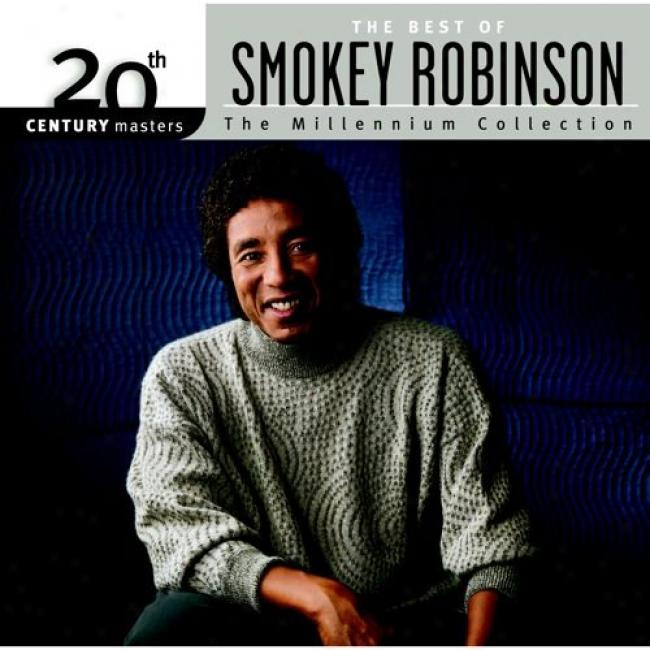 20th Century Masters: The Millennium Collection - The Best Of Smokey Robinson (with Biodegradable Cd Case)