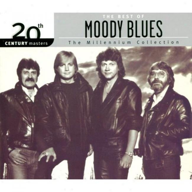 2Oth Centurry Masters: The Millennium Collection - The Best Of The Moody Blues (with Biodegradable Cd Case)