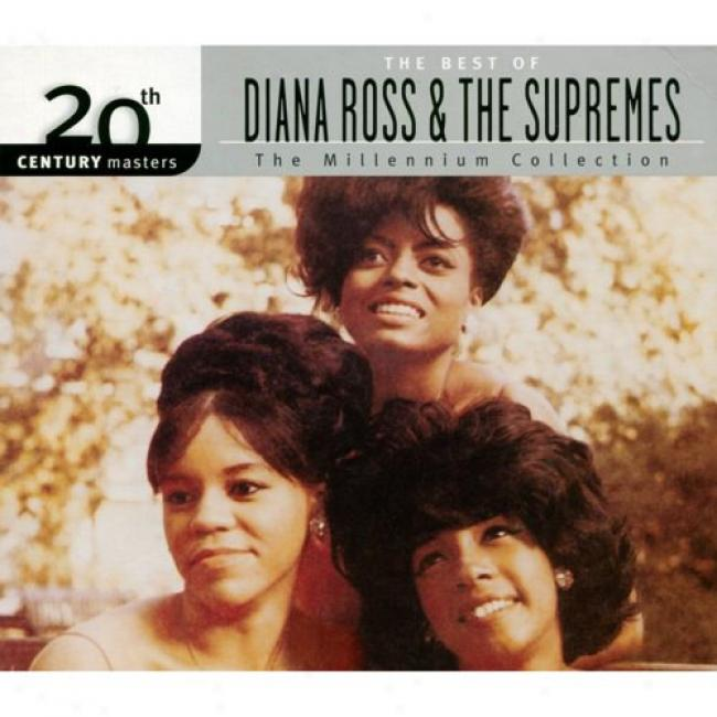 20th Century Masterz: The Millennium Collection - The BestO f Diana Ross & The Supremes (with Biodegradable Cd Case)