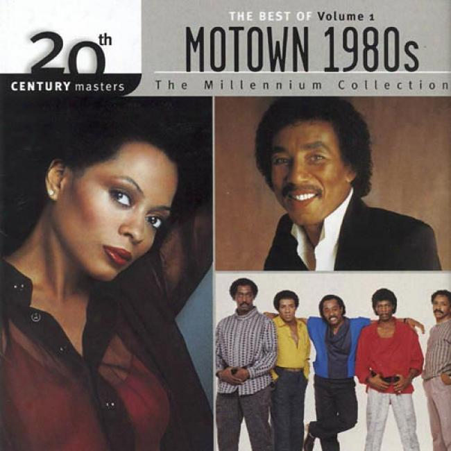 20th Century Masters: The Millennium Collection - The Best Of Motown 1980's, Vol.1 (remaster)